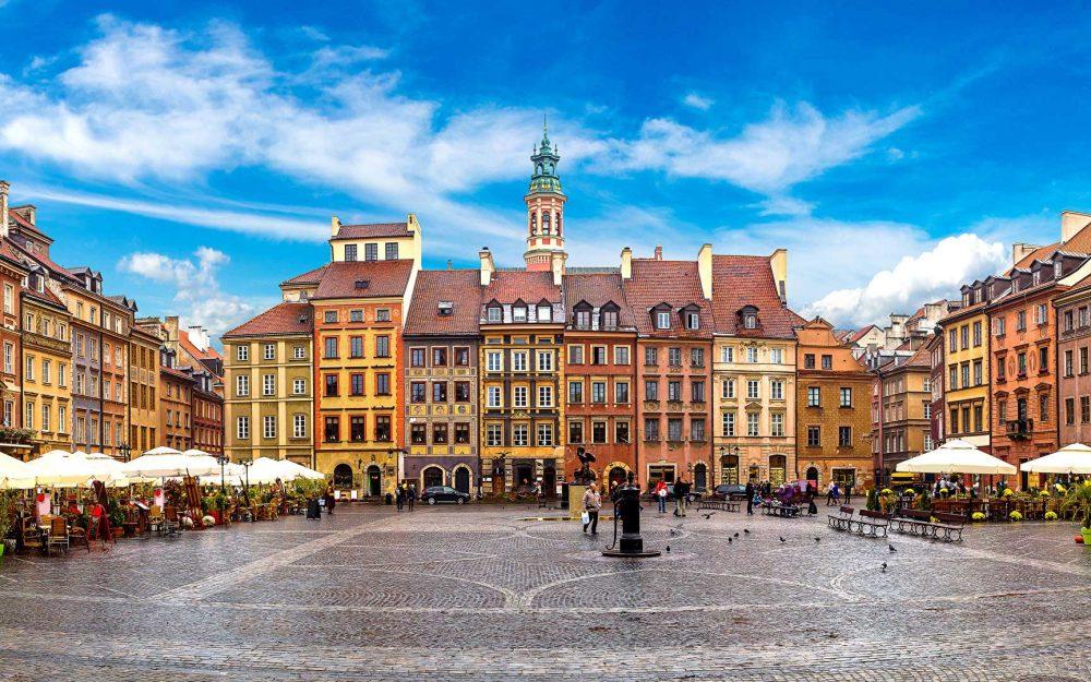 Varsavia Polonia GPS Travel